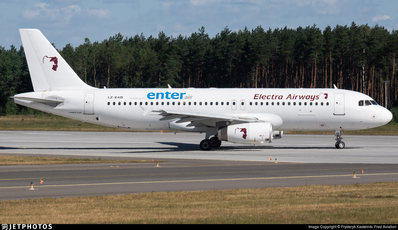 LZ-EAB - Airbus A320-231 - Enter Air (Electra Airways)