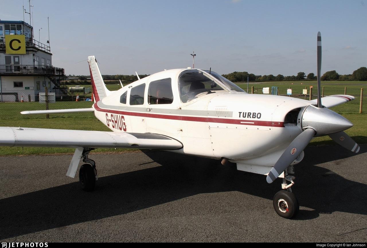 G-SHUG - Piper PA-28R-201T Turbo Cherokee Arrow III - Private
