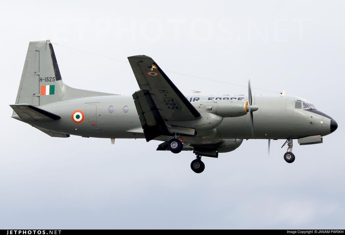 H-1525 - Hindustan Aeronautics HAL-748 - India - Air Force