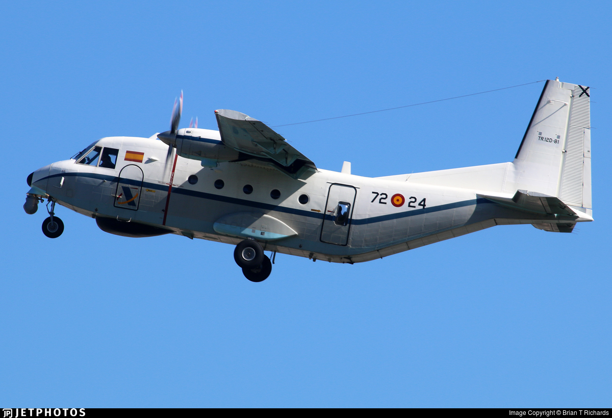 TR.12D-81 - CASA C-212-200 Aviocar - Spain - Air Force