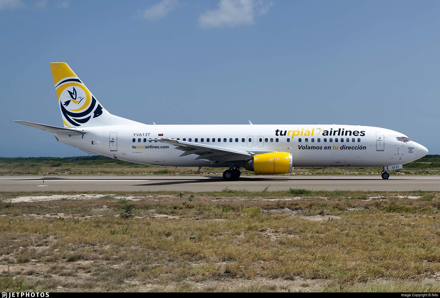 YV613T - Boeing 737-400 - Turpial Airlines