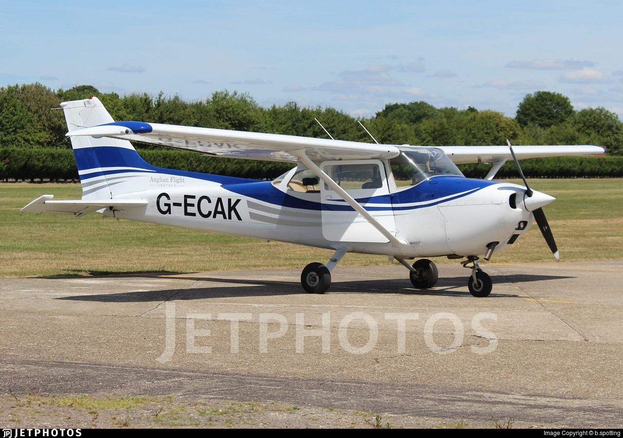 G-ECAK - Reims-Cessna F172M Skyhawk - English Air Services
