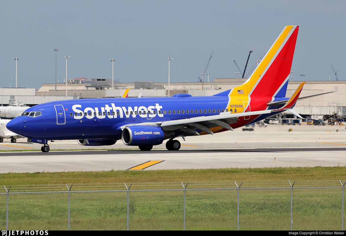 N7868K - Boeing 737-79P - Southwest Airlines