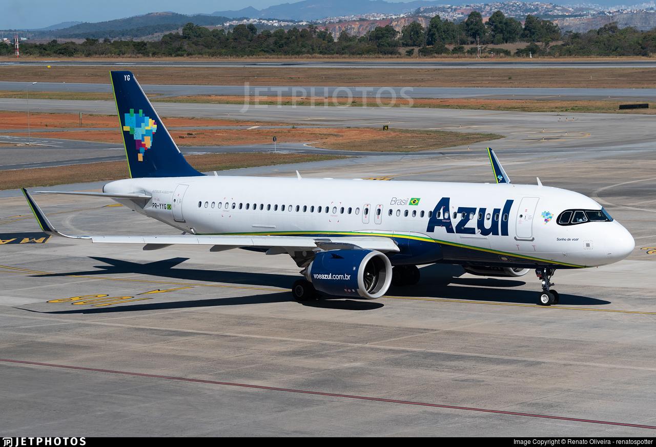 PR-YYG - Airbus A320-251N - Azul Linhas Aéreas Brasileiras