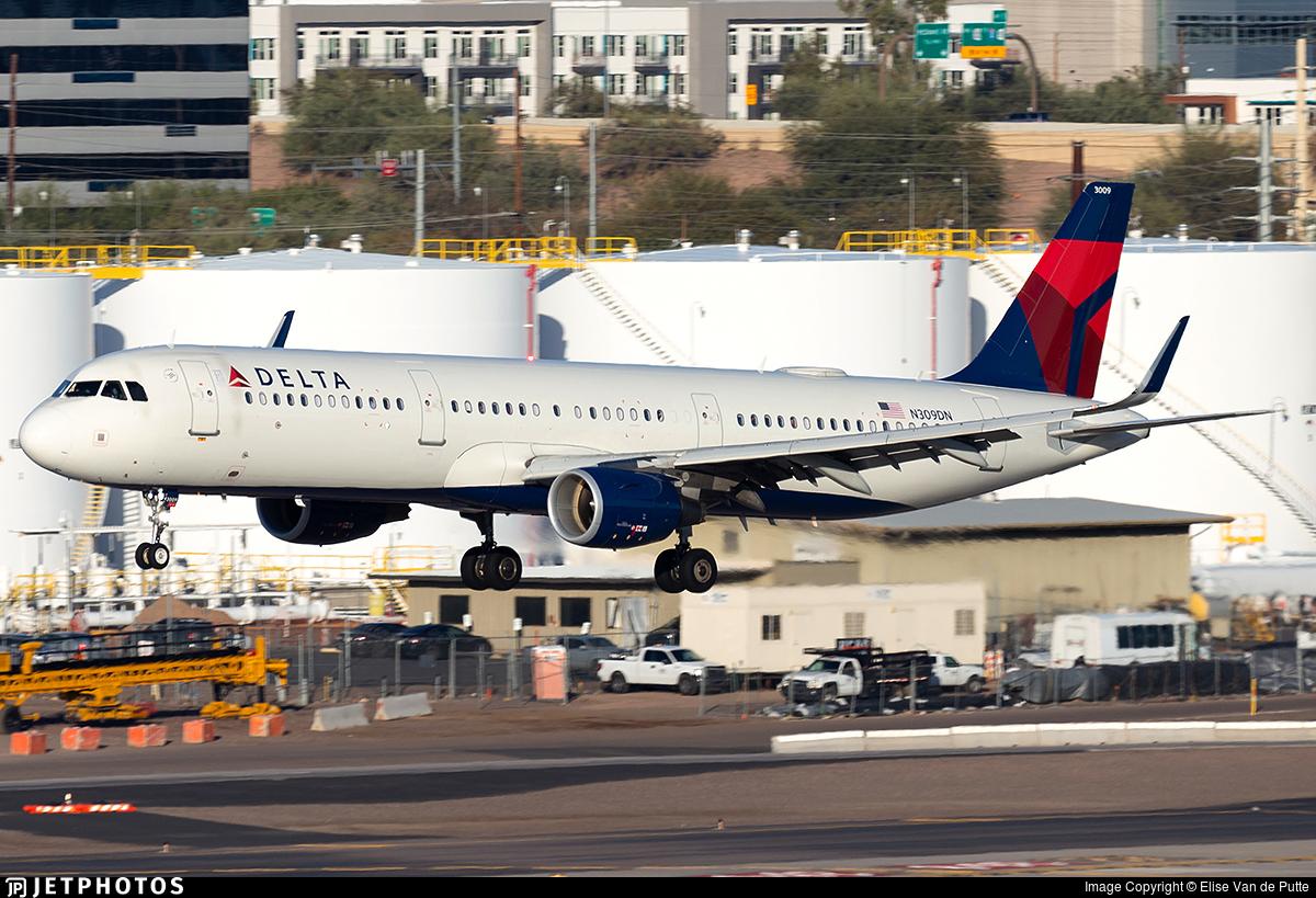 N309DN - Airbus A321-211 - Delta Air Lines