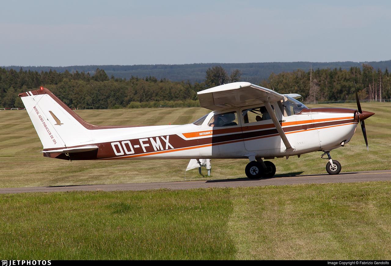OO-FMX - Reims-Cessna F172N Skyhawk II - Royal Aero Para Club de Spa