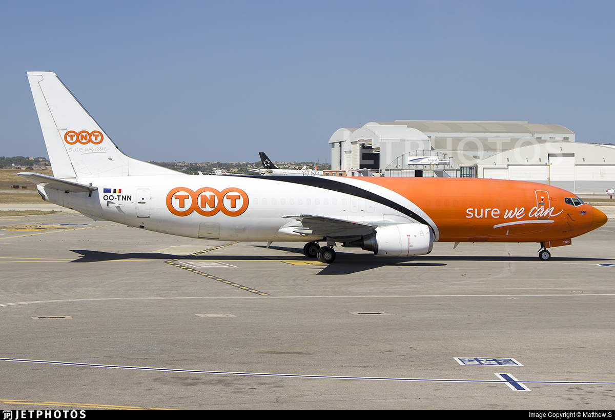 OO-TNN - Boeing 737-45D(SF) - TNT (ASL Airlines)