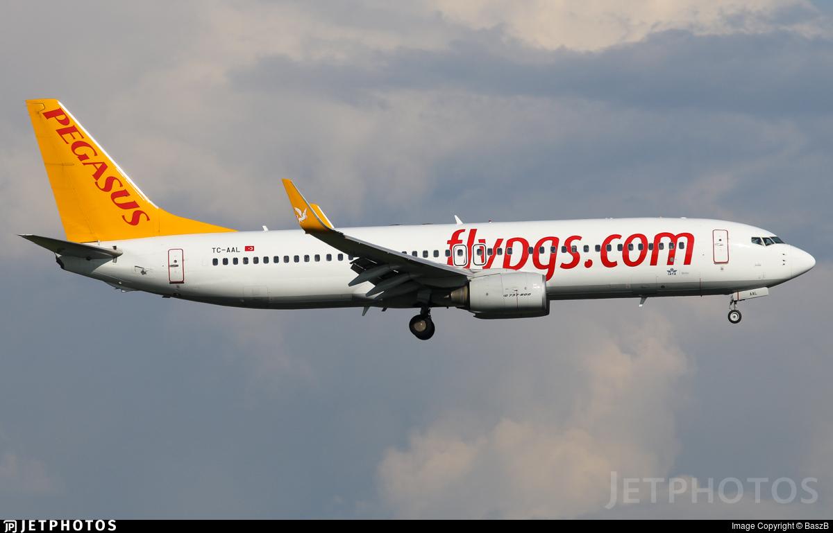 TC-AAL - Boeing 737-82R - Pegasus Airlines