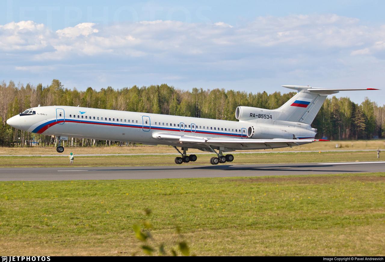 RA-85534 - Tupolev Tu-154B-2 - Russia - Air Force