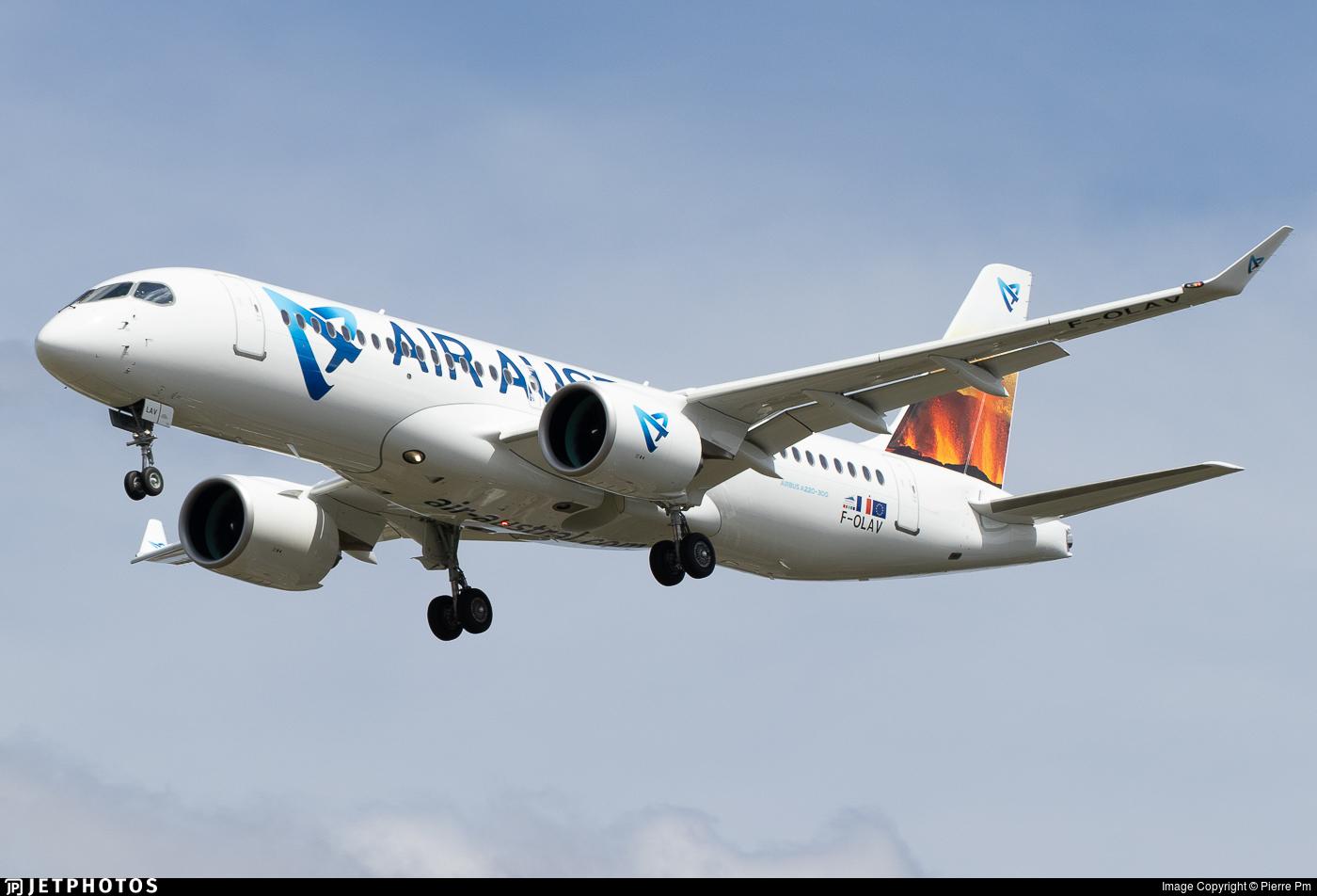 F-OLAV - Airbus A220-371 - Air Austral