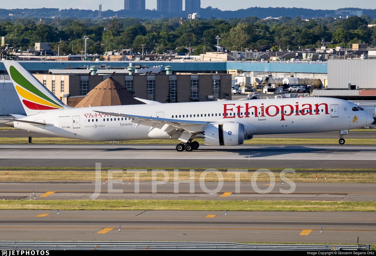 ET-AXL - Boeing 787-9 Dreamliner - Ethiopian Airlines