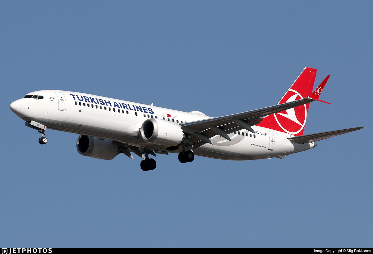 TC-LCF - Boeing 737-8 MAX - Turkish Airlines