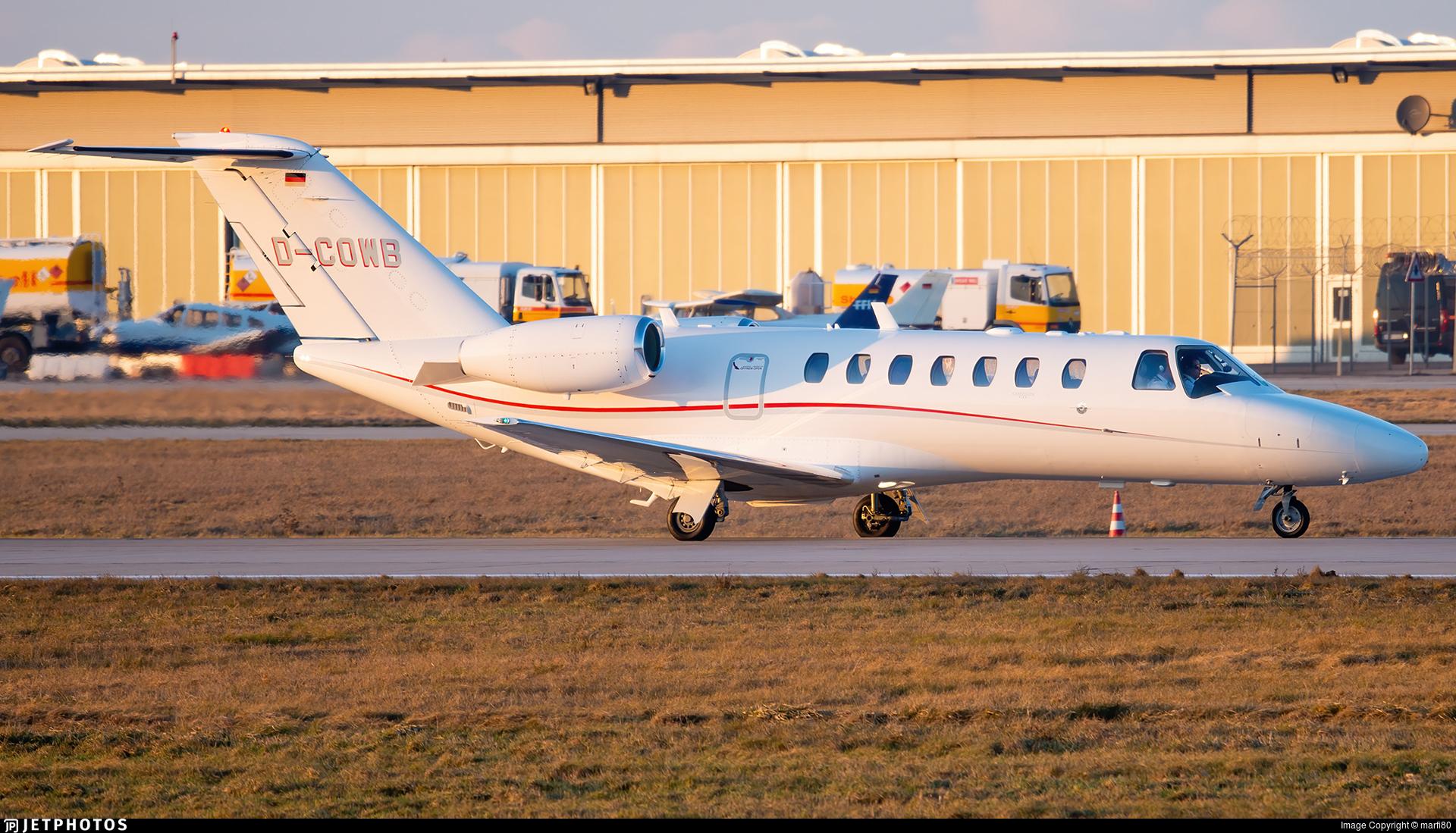 D-COWB - Cessna 525B CitationJet 3 - Private
