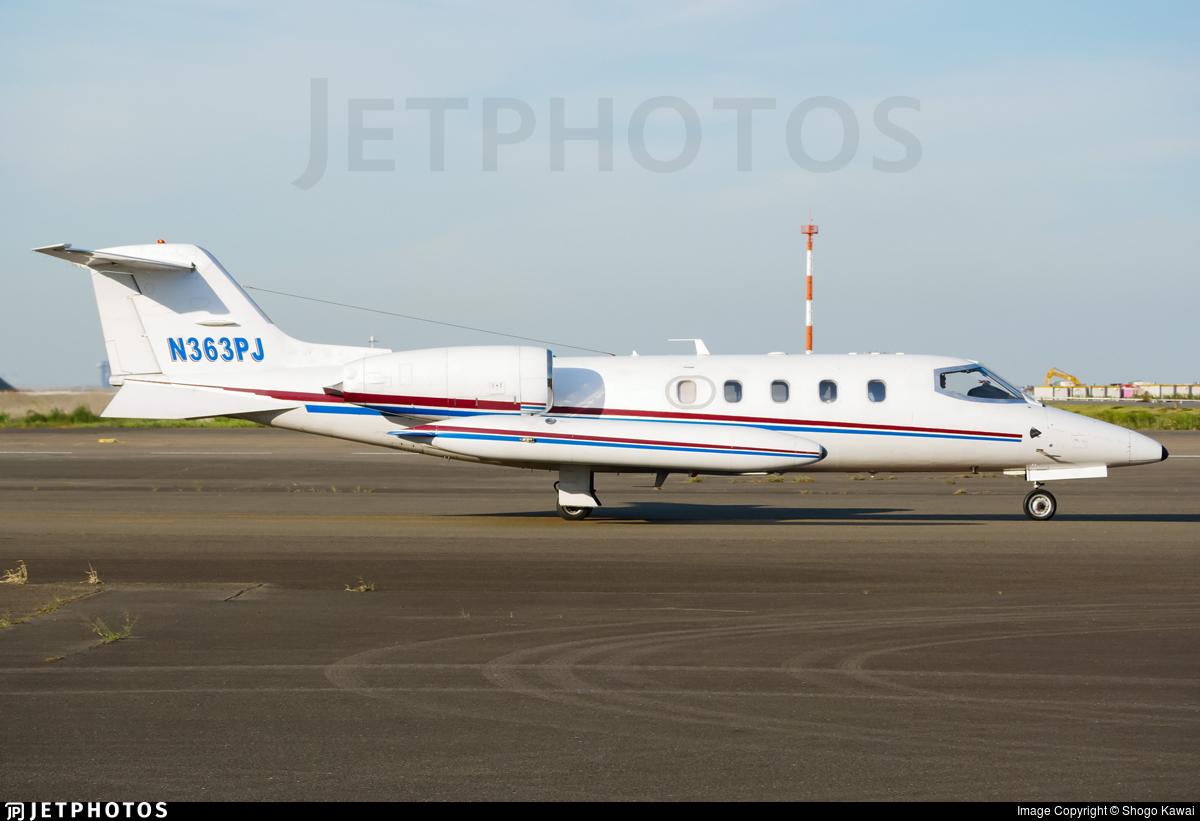N363PJ - Bombardier Learjet 36A - Private