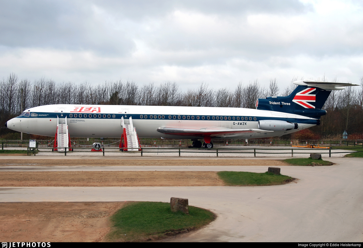 G-AWZK - Hawker Siddeley HS-121 Trident 3B - British European Airways (BEA)