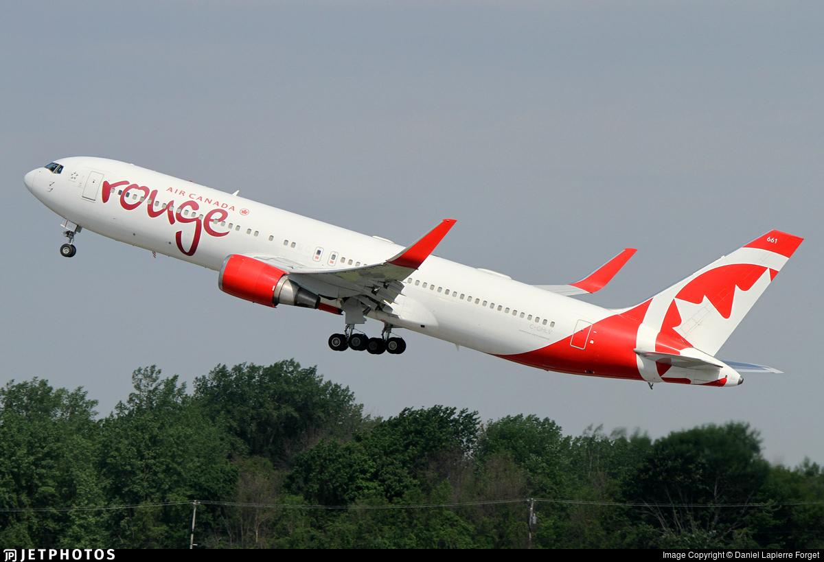 C-GHLV - Boeing 767-333(ER) - Air Canada Rouge
