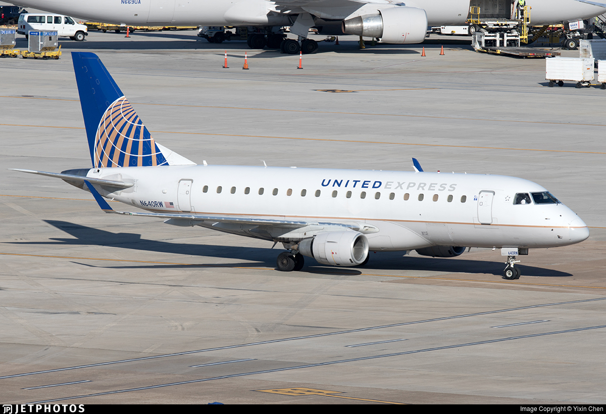 N640RW - Embraer 170-100SE - United Express (Republic Airlines)