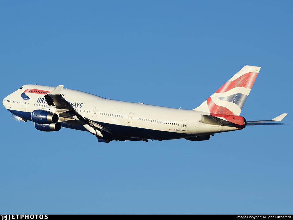 G-CIVA - Boeing 747-436 - British Airways