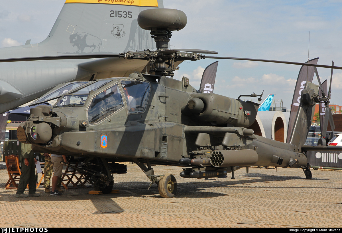 08-05550 - Boeing AH-64D Apache - United States - US Army