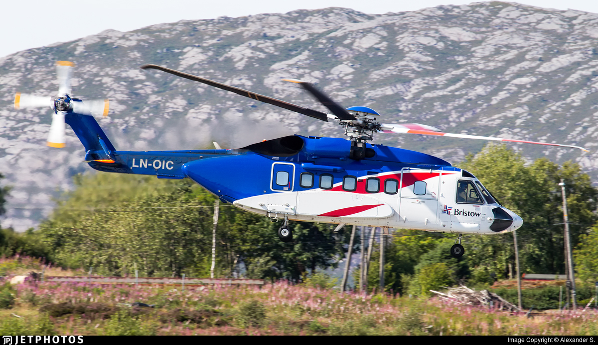 LN-OIC - Sikorsky S-92A Helibus - Bristow Helicopters