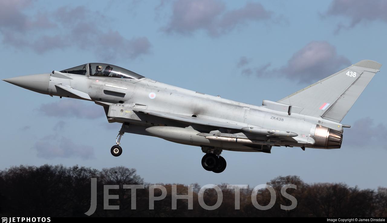ZK438 - Eurofighter Typhoon FGR.4 - United Kingdom - Royal Air Force (RAF)