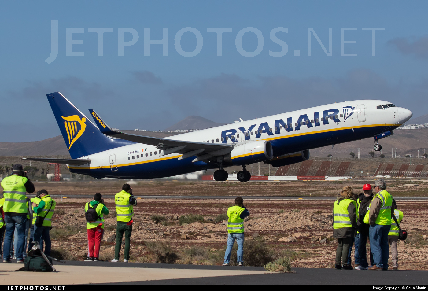 EI-EMD - Boeing 737-8AS - Ryanair
