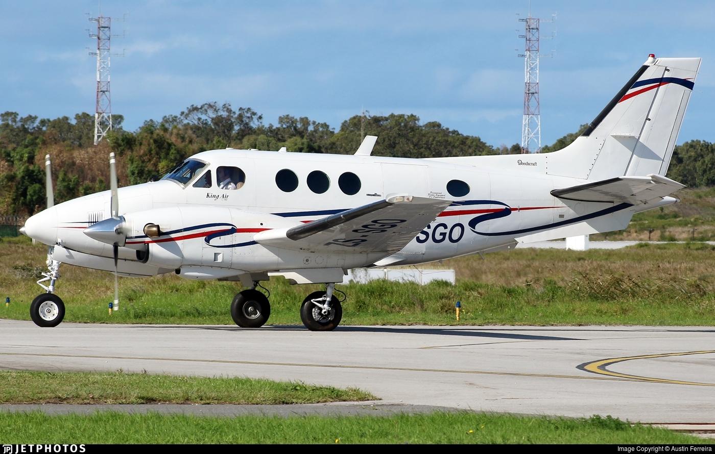 ZS-SGO - Beechcraft C90 King Air - Private