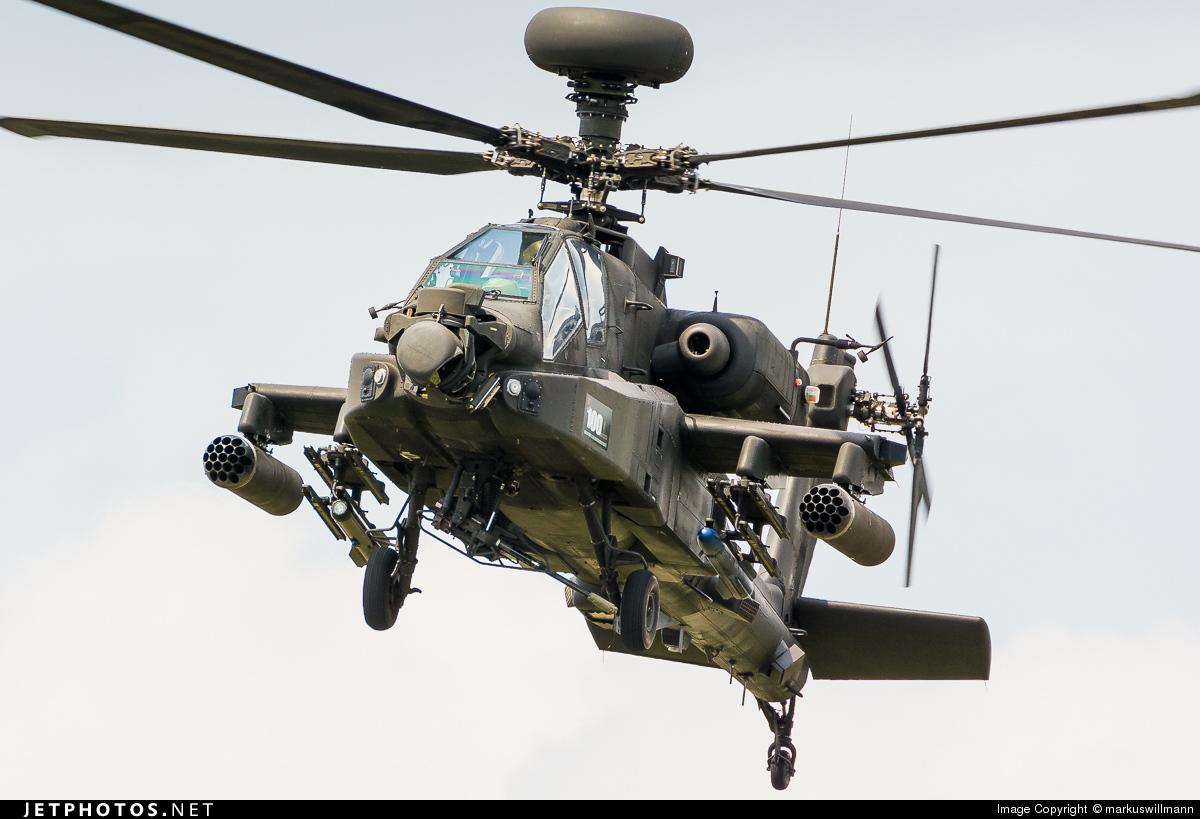 ZJ185 - Westland Apache AH.1 - United Kingdom - Army Air Corps