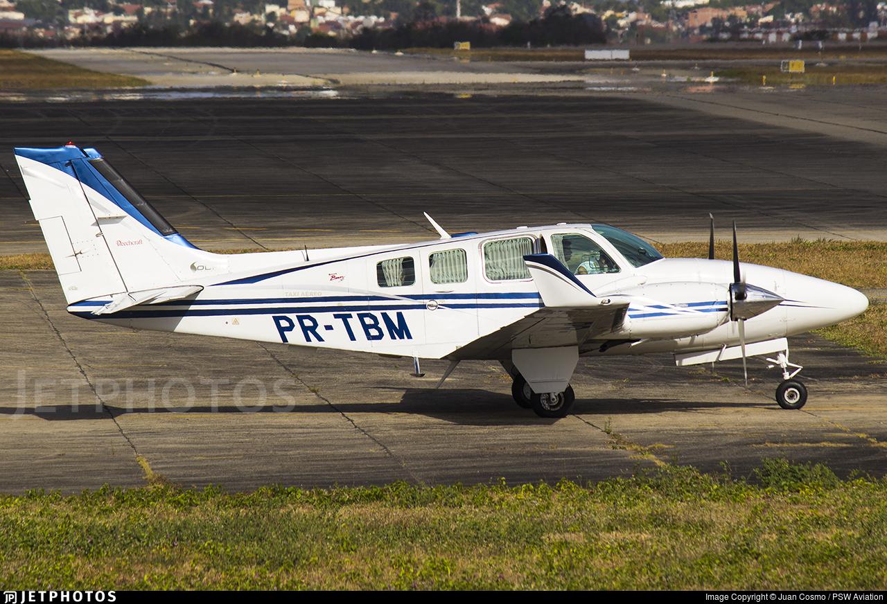 PR-TBM - Beechcraft 58 Baron - Solar Táxi Aéreo