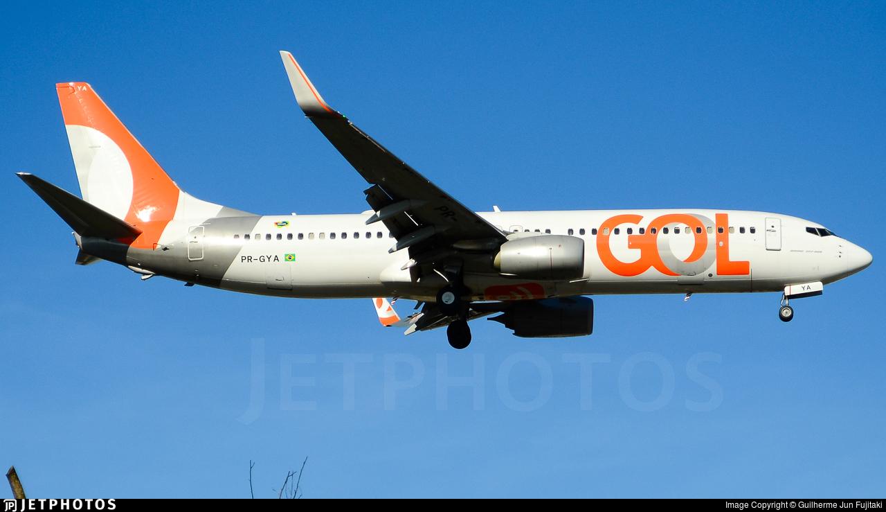 PR-GYA - Boeing 737-8EH - GOL Linhas Aéreas