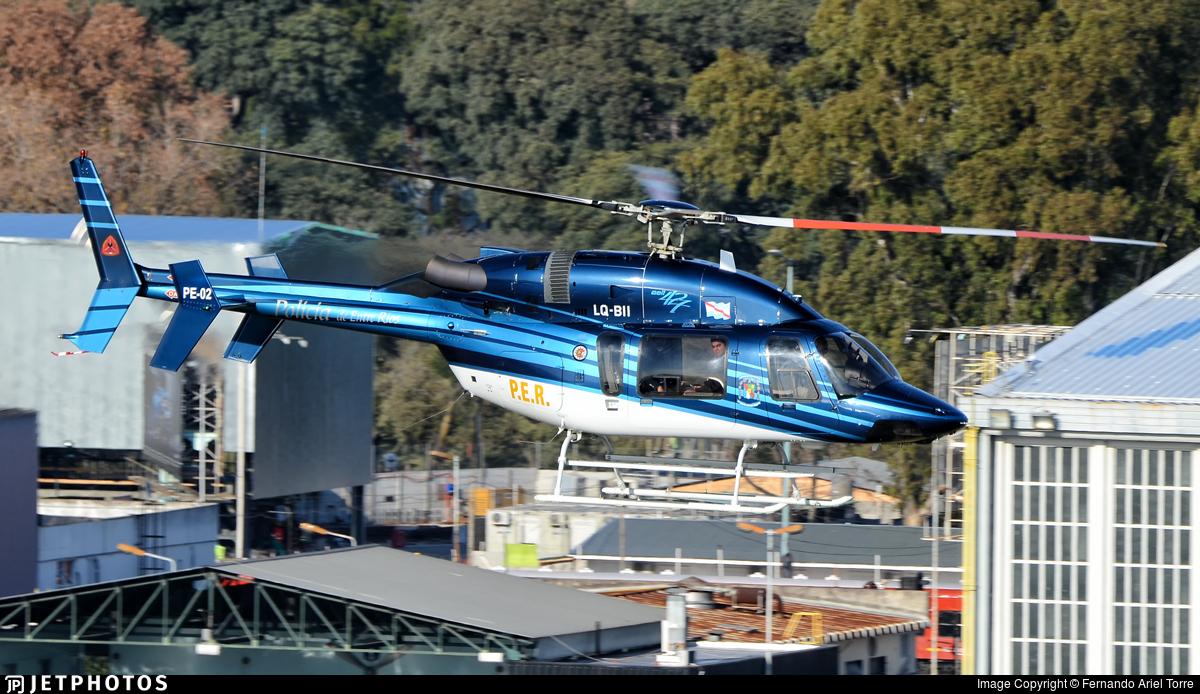 LQ-BII - Bell 427 - Argentina - Police of Entre Rios