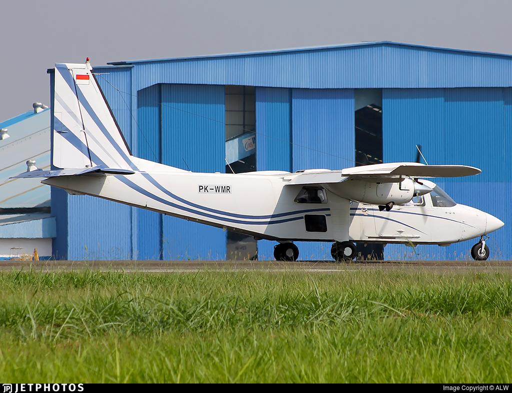 PK-WMR - Britten-Norman BN-2T Turbine Islander - Private