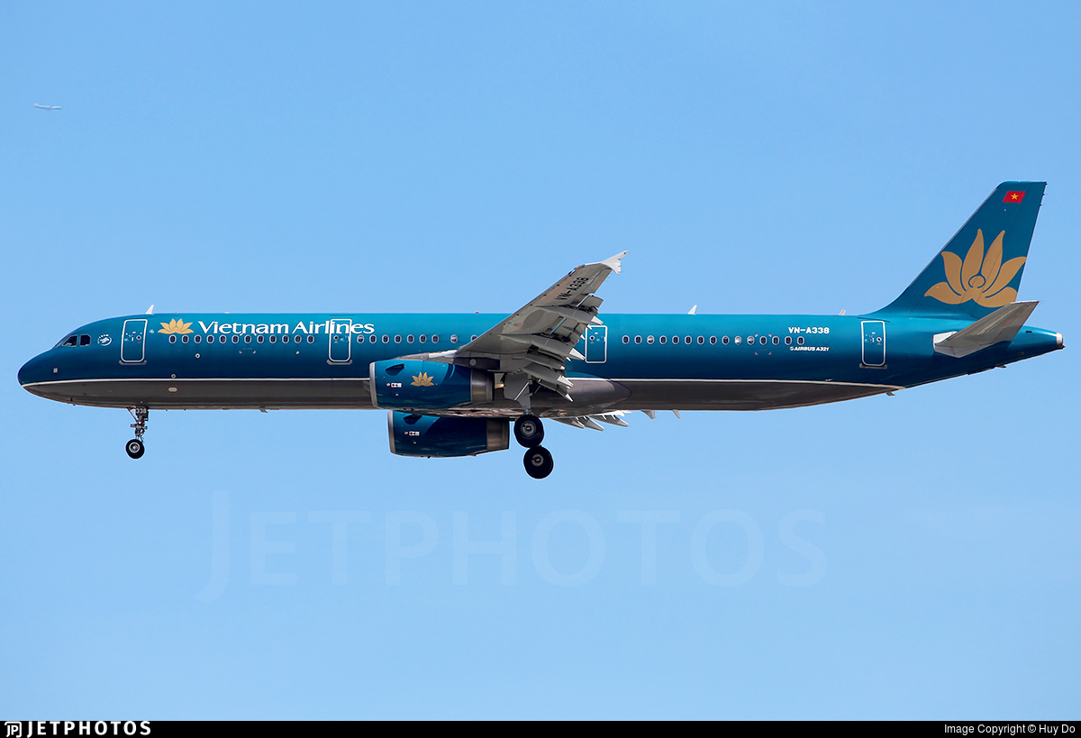 VN-A338 - Airbus A321-231 - Vietnam Airlines