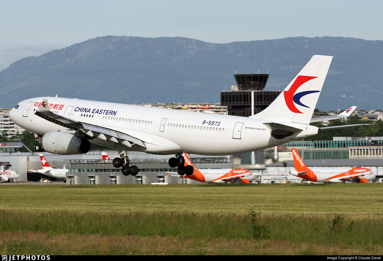 B-5973 - Airbus A330-243 - China Eastern Airlines