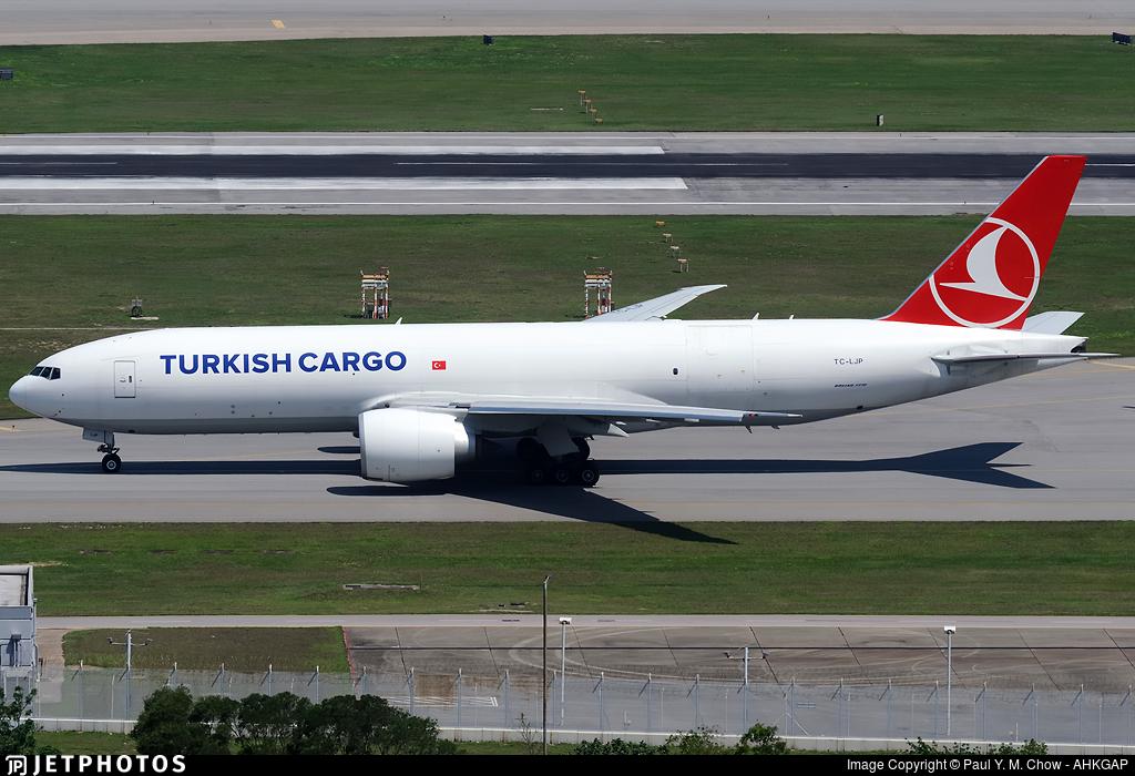 TC-LJP - Boeing 777-FF2 - Turkish Airlines Cargo