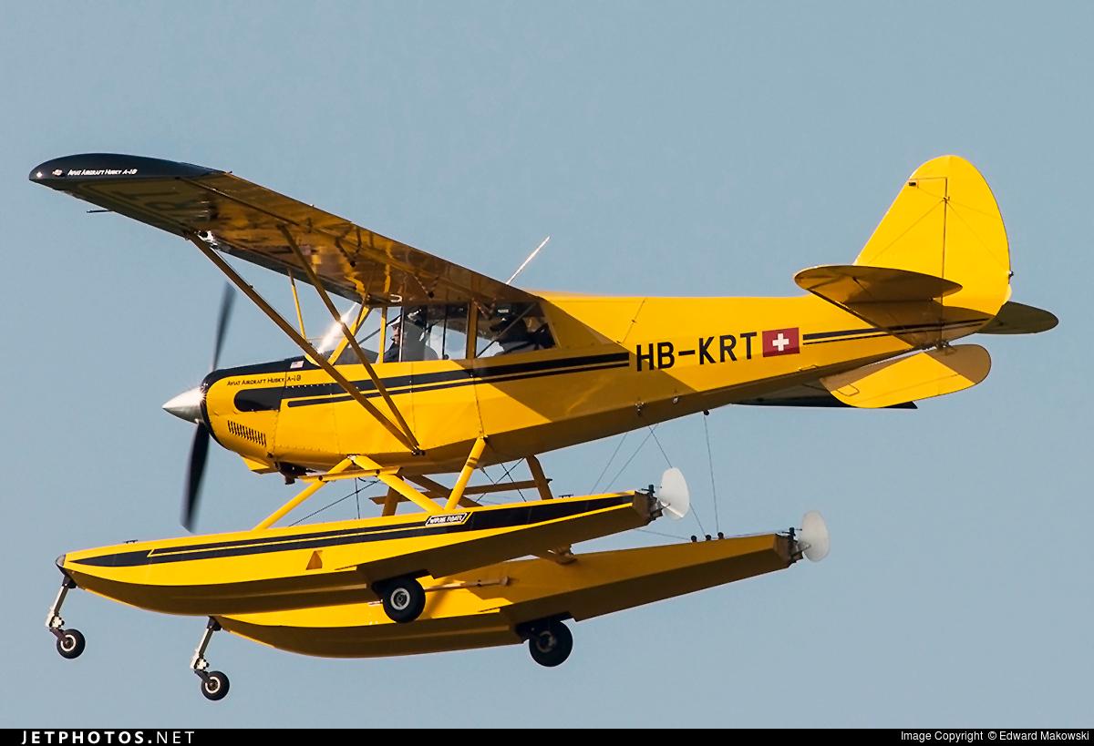 HB-KRT - Aviat A-1B Husky - Private