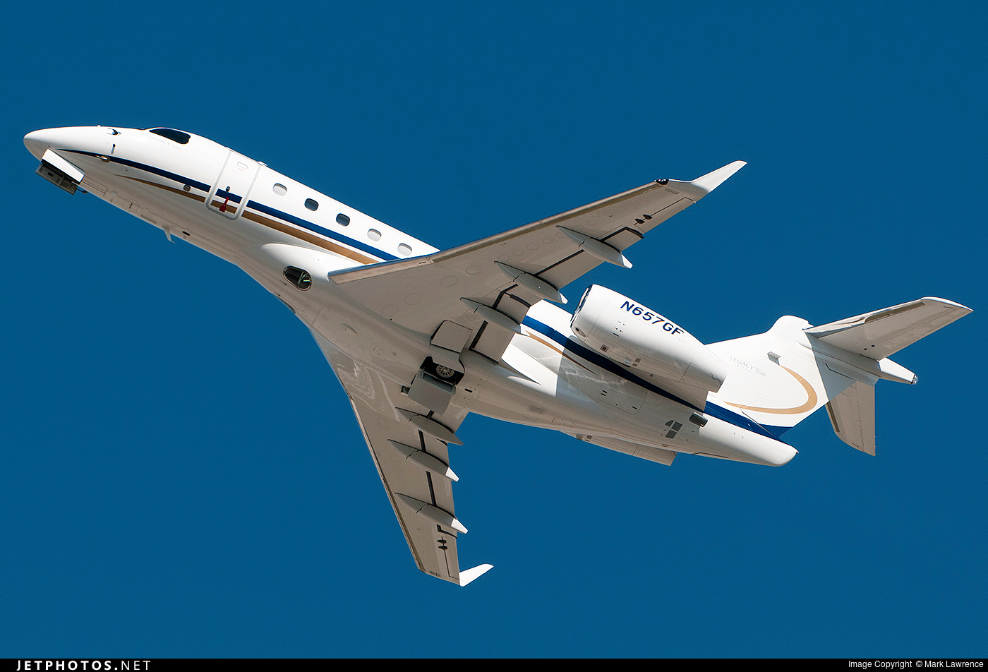 N657GF - Embraer EMB-550 Legacy 500 - Private