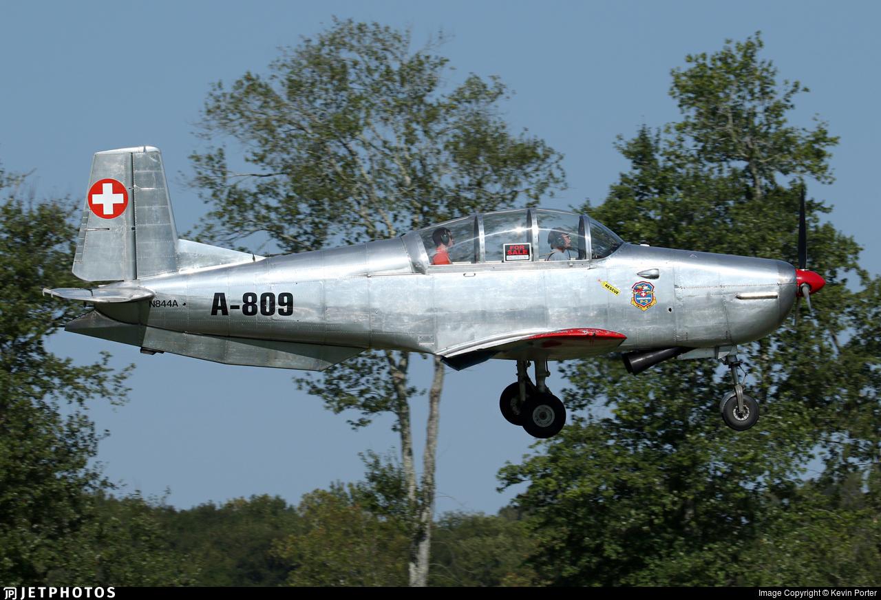 N844A - Pilatus P-3-03 - Private