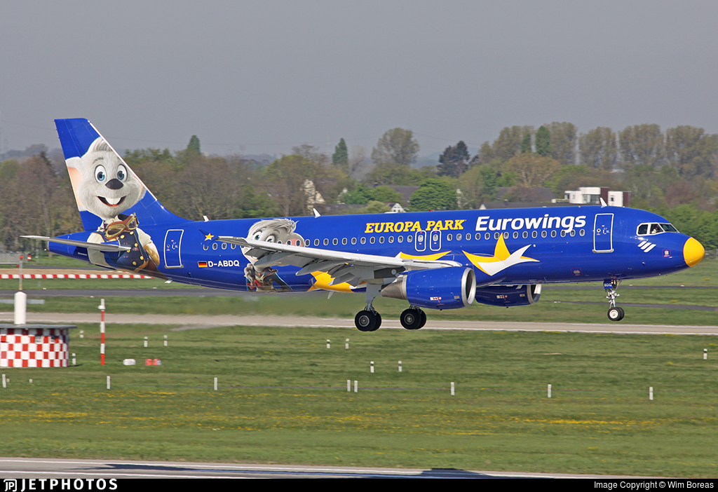 D-ABDQ - Airbus A320-214 - Eurowings