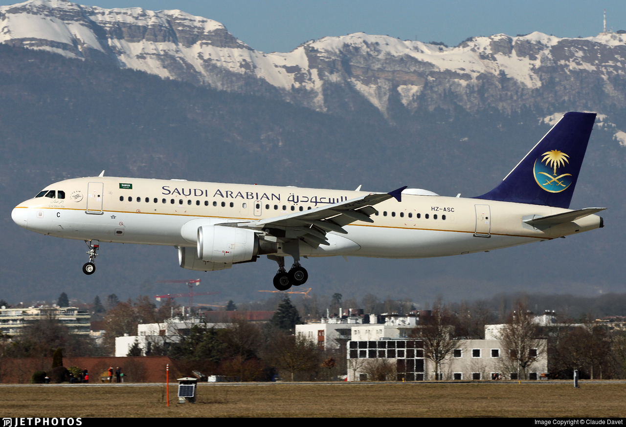 HZ-ASC - Airbus A320-214 - Saudi Arabian Airlines