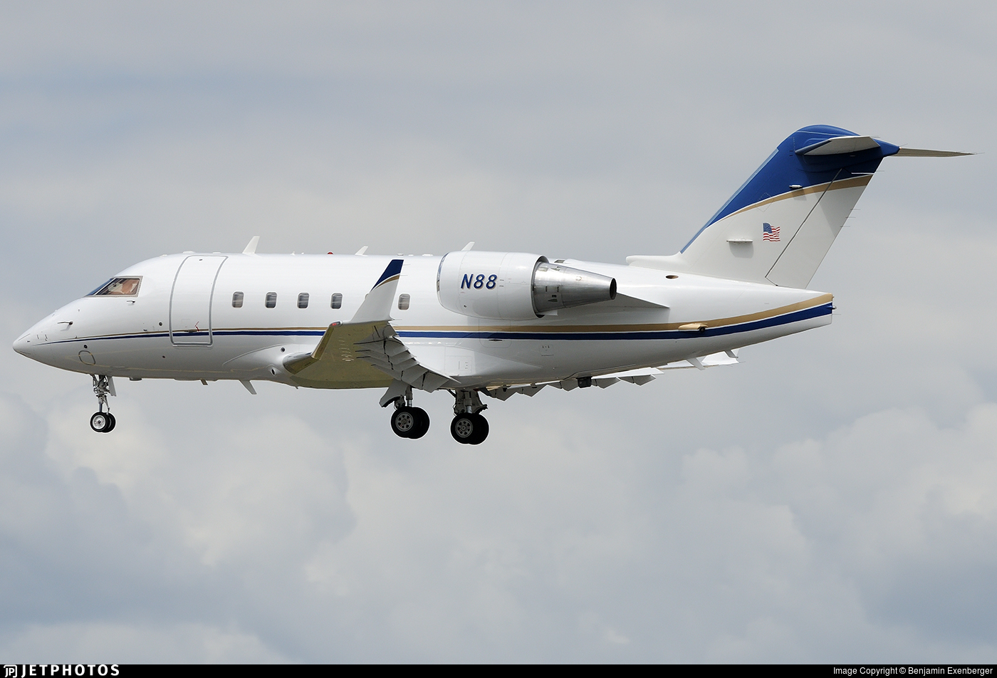 N88 - Bombardier CL-600-2B16 Challenger 604 - United States - Federal Aviation Administration (FAA)