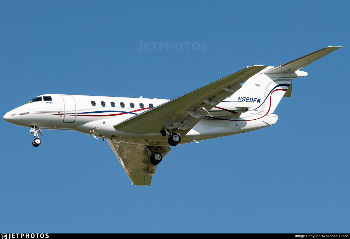 N928FM - Hawker Beechcraft 4000 - Private