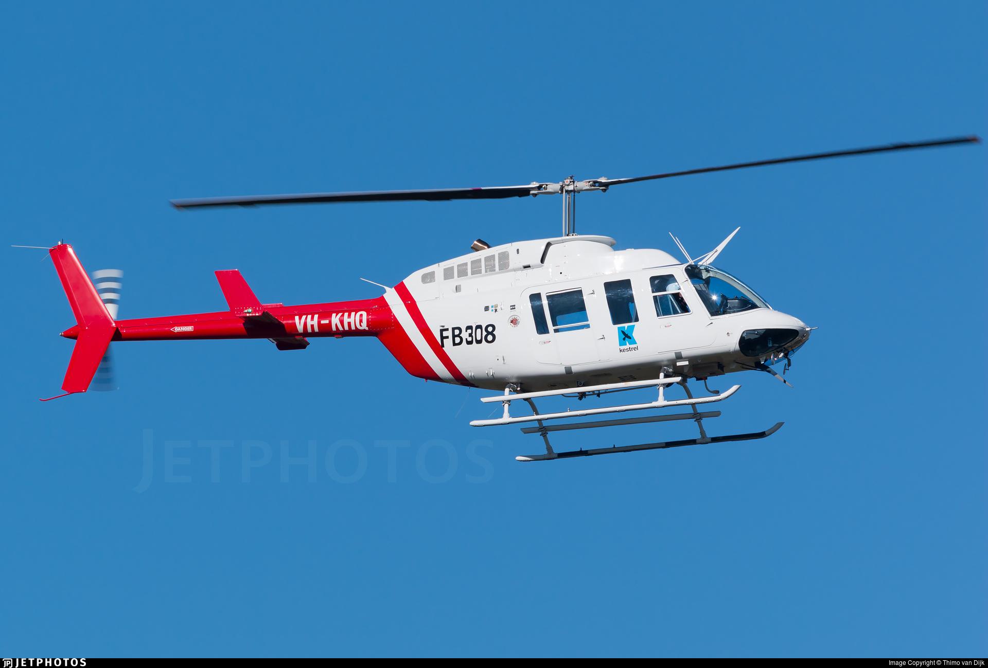 VH-KHQ - Bell 206L-3 LongRanger - Kestrel Aviation