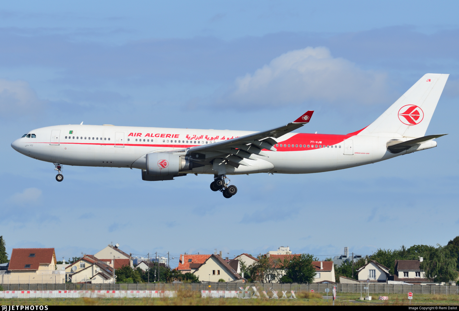 7T-VJW - Airbus A330-202 - Air Algérie