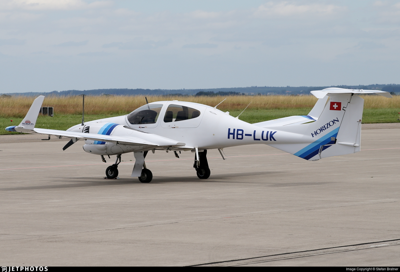 HB-LUK - Diamond DA-42 Twin Star - Horizon Swiss Flight Academy