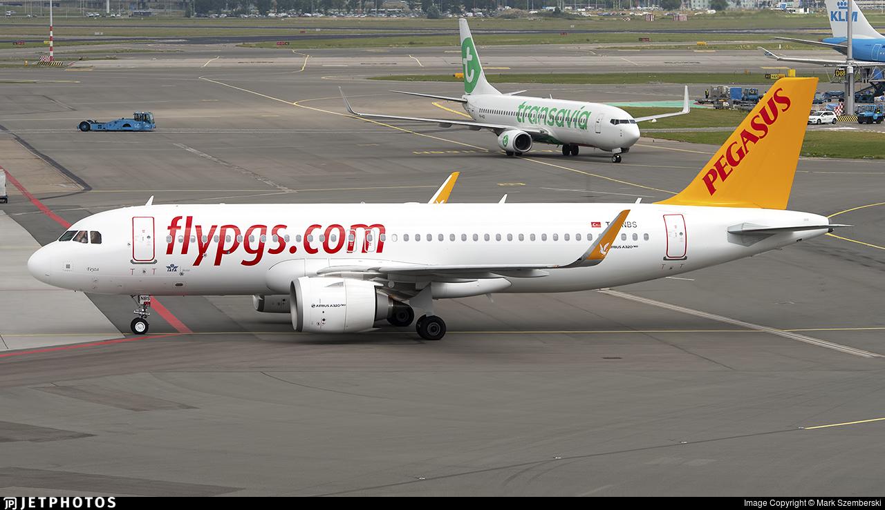 TC-NBS - Airbus A320-251N - Pegasus Airlines