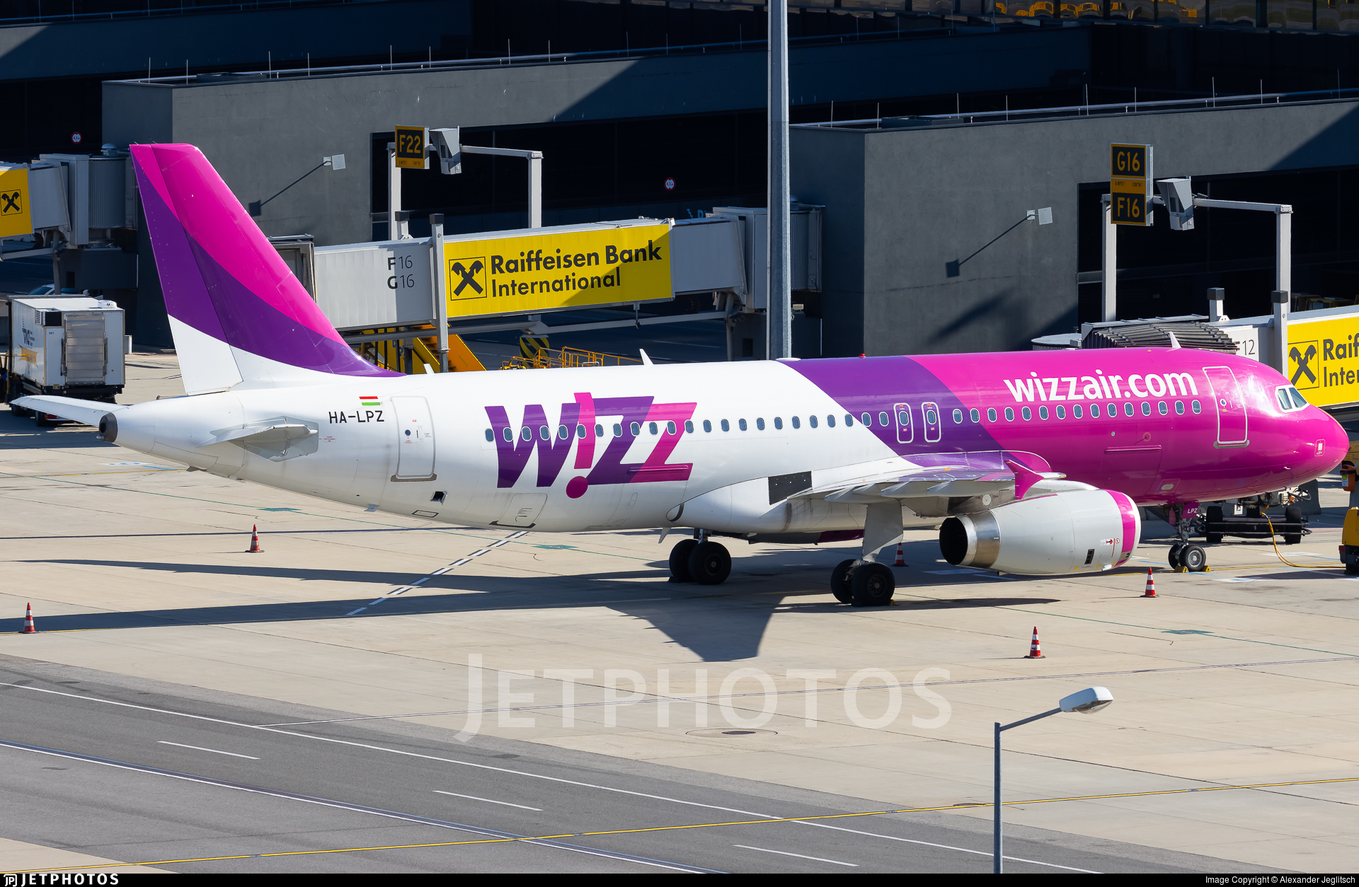 HA-LPZ - Airbus A320-232 - Wizz Air