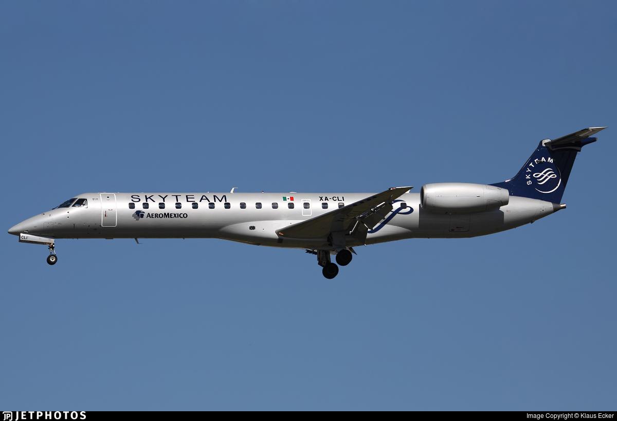 XA-CLI - Embraer ERJ-145LR - Aeroméxico Connect
