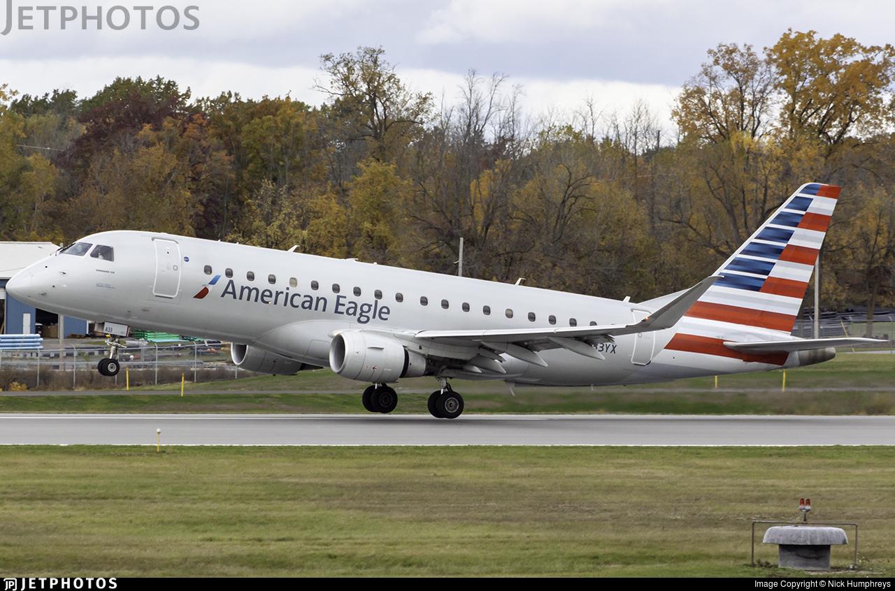 N433YX - Embraer 170-200LR - American Eagle (Republic Airways)