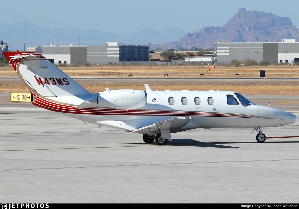 N43MS - Cessna 525 Citationjet CJ1 - Private